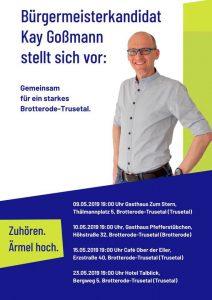 Gesprächsrunde mit Kay Goßmann in Elemthal @ Wellnesshotel Talblick